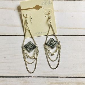 BKE Boho Earring Set Gypsy Hippie Long Earrings